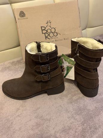 Зимние натуральные ботинки BooRoo 38 р