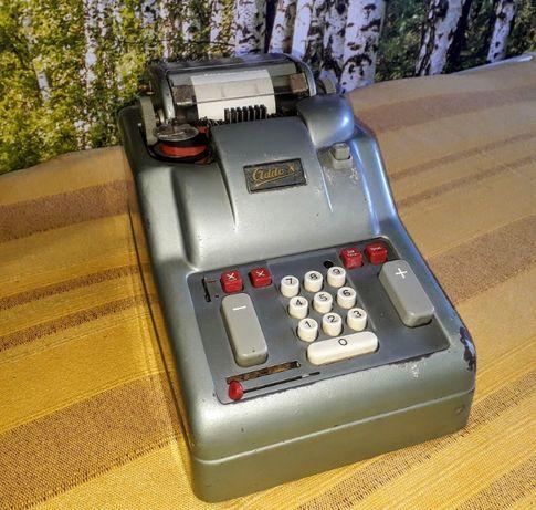 Máquina de calcular comercial elétrica vintage Addo-X