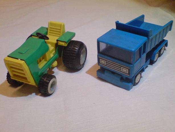 Трактор и инерционная машина