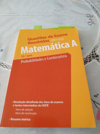 Vendo livros de exames