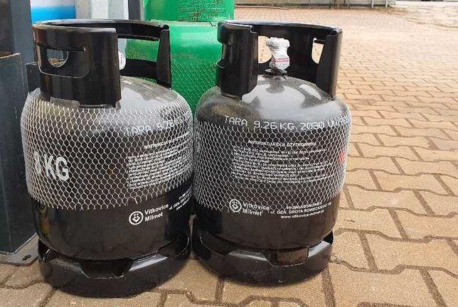Butla gazowa propan butan 8kg, do grilla, kampera, kemping