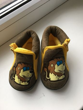 Пинетки ботинки Лев