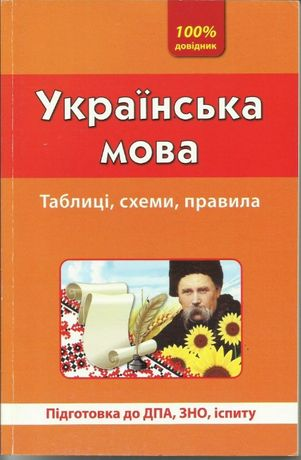 Довідник: Українська мова. Таблиці, схеми, правила.