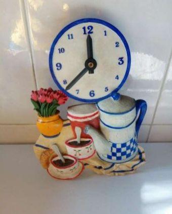 Relógio Cozinha Vintage