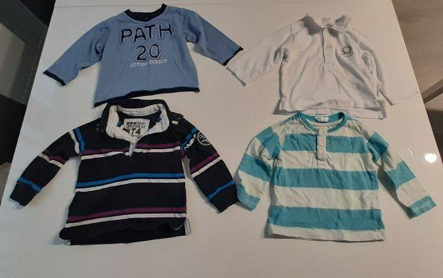 Bluzeczki dla chłopca rozm. 78