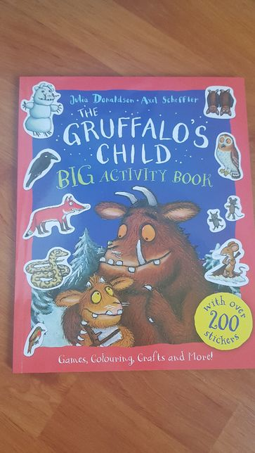 The Gruffalo 's Chil Big Activity Book Nowa Julia Donaldson Scheffler