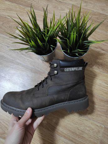 Мужские коричневые ботинки caterpillar bridgeport 719196