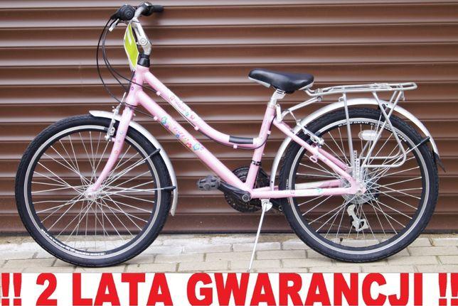 Rower markowy 24' FOLTA CONESA . Młodzieżowy, nowoczesny + LICZNIK !!