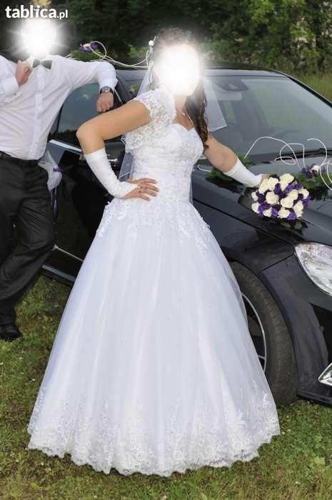 Śliczna suknia ślubna + gratisy Doruchów - image 1