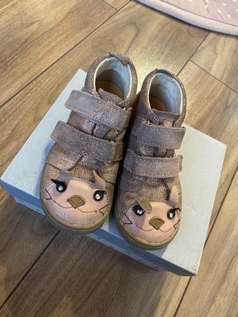 Mrugała dziewczęce buciki trzewiki buty 28 lilac bunny