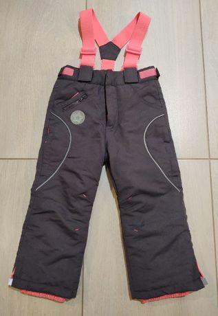 Spodnie narciarskie firmy Cool Club dla dziewczynki 98 cm