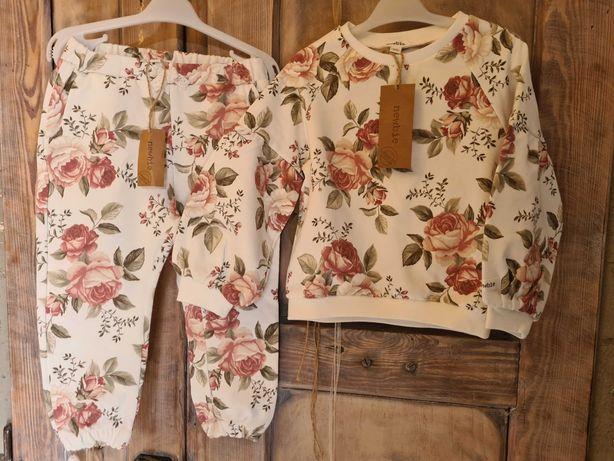 Bluza 92 spodnie 92  newbie nowy