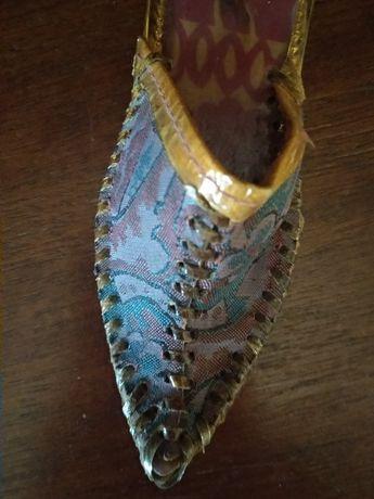 Сувенирная винтажная туфелька из СССР (50-е годы) в коллекцию