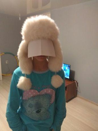 Продам детскую- подростковую шапку для девочки