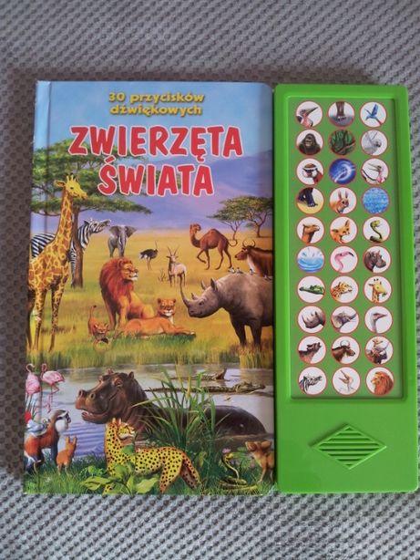 książka w twardej oprawie zwierzęta świata