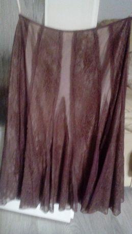 Zwiewna spódnica na podszewce rozmiar 10