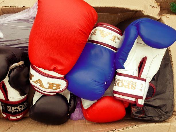 Перчатки для бокса ,взрослые и детские новые