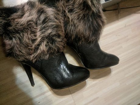 сапоги полусапожки ботинки зима зимние Basic италия