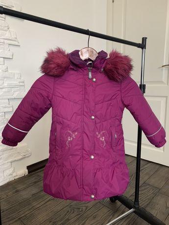 Детское зимнее пальто, курточка Lenne (Ленне), 98р