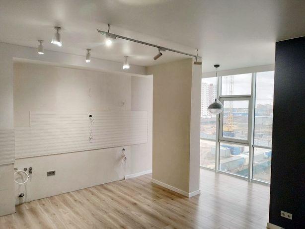 Кухня-гостиная и спальня. ЖК 15 Жемчужина. Архитекторская. Таирово