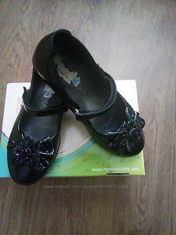 Продам красивые кожаные туфли фирмы Panda размер 30