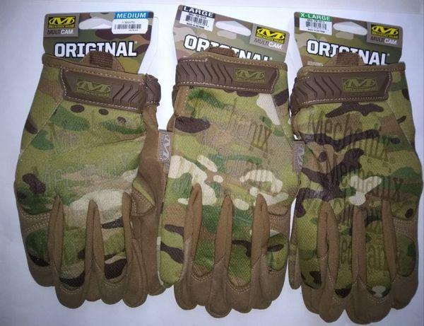 Перчатки Mechanix FastFit, Original, M-Pact мультикам, черные, койот