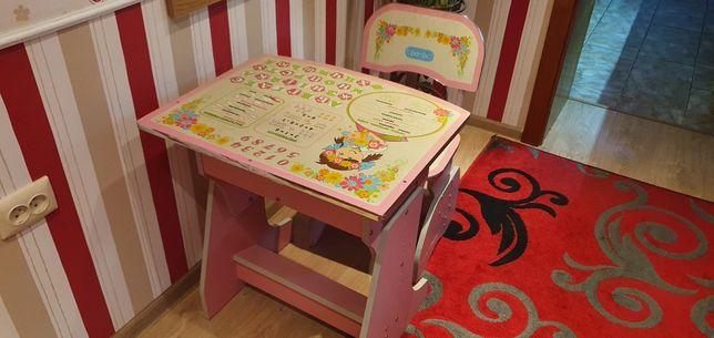 Детская парта и стул