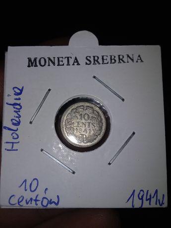 Holandia srebrne monety