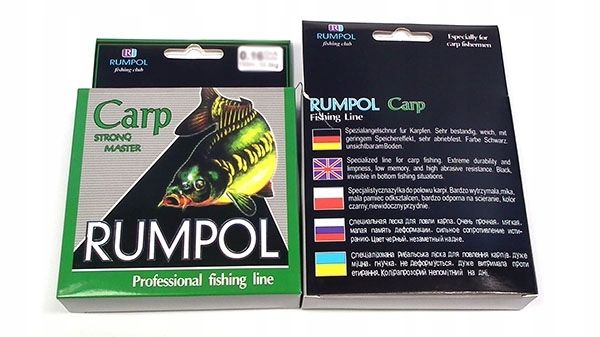 Czarna plecionka rumpol carp 0,28mm 150/300m