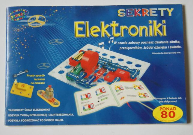 Sekrety Elektroniki 80 eksperymentów DROMDER