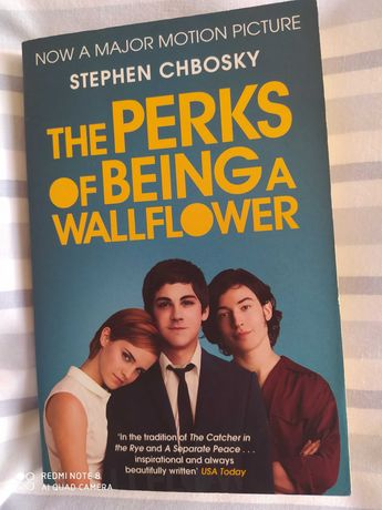 """Livro """"The perks of being a wallflower"""""""