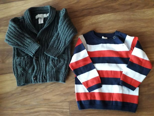Sweterek chłopięce H&M rozmiar 74
