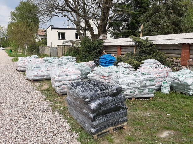 Podłoża ogrodowe, ziemia,kora,torf Pruszków i okolice dostawa i odbiór