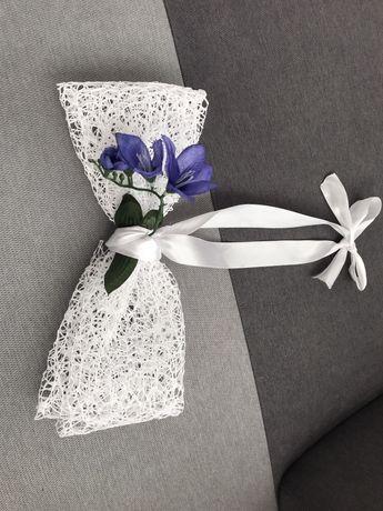 6 pięknych kokard, ślub, wesele obstrojenie na inne okazje