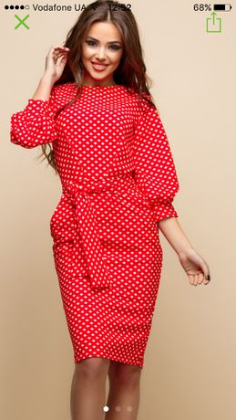 Charm collection платье футляр s-m 44 {38} принт ромбик