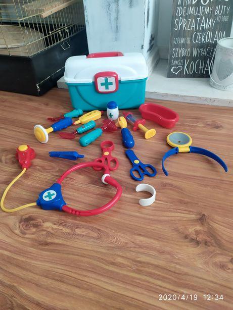 Zabawkowy zestaw doktora