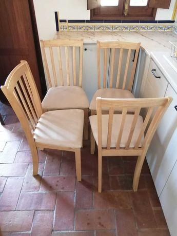 Conjunto de 4 Cadeiras Como Novo