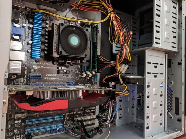 Игровой ПК AMD 3.4 Ghz + GTX 450 1 gb