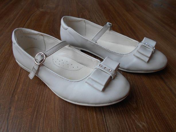 Półbuty, buty komunijne, trzewiki Magic Lady, w rozm. 34