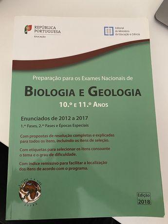 Livro de preparação para exames de biologia e geologia