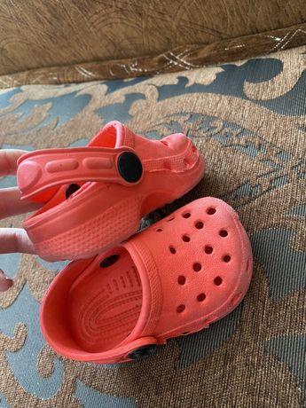 Кроксы на малышей