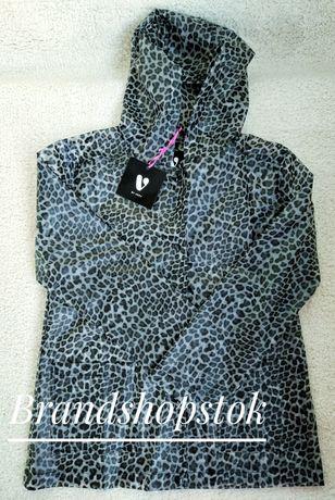 Леопардовый дождевик для малыша