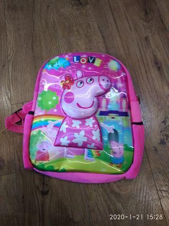 Новий рюкзак для дівчинки пеппа