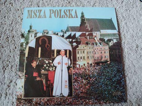 Płyta winylowa gramofonowa Jan Paweł ll Msza Polska Chór Archikatedry