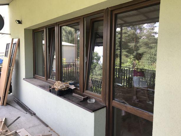 Okno balkonowe 370x225