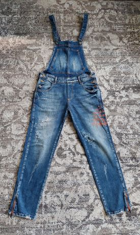 Джинсовый комбинезон джинсовий комбінезон Бойфренди джинси Турция