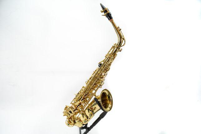 Saksofon altowy Quintus nie używany, z futerałem. Super stan!