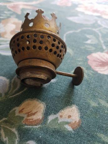 Stary mosiężny brenner