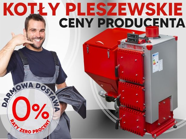 Kocioł CIEPŁOTERM FENIKS Komfort Eko o mocy 12kW z podajnikiem