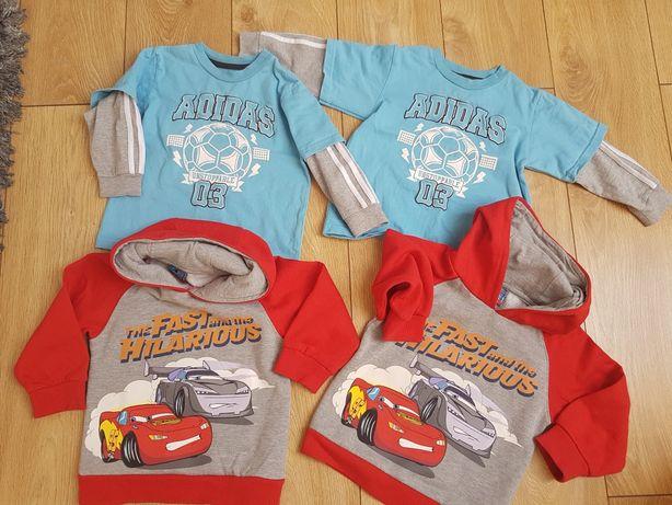 Bluzy i bluzki dla bliźniaków 2 lata